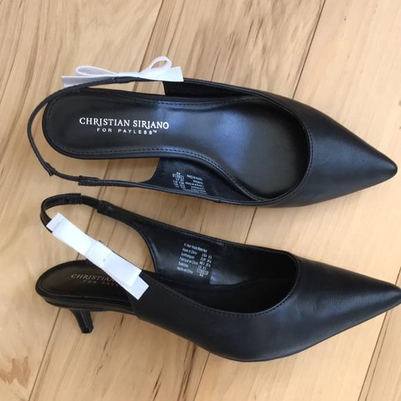 Christian Siriano Shoes - Christian Siriano sling back bow pump.  Nib